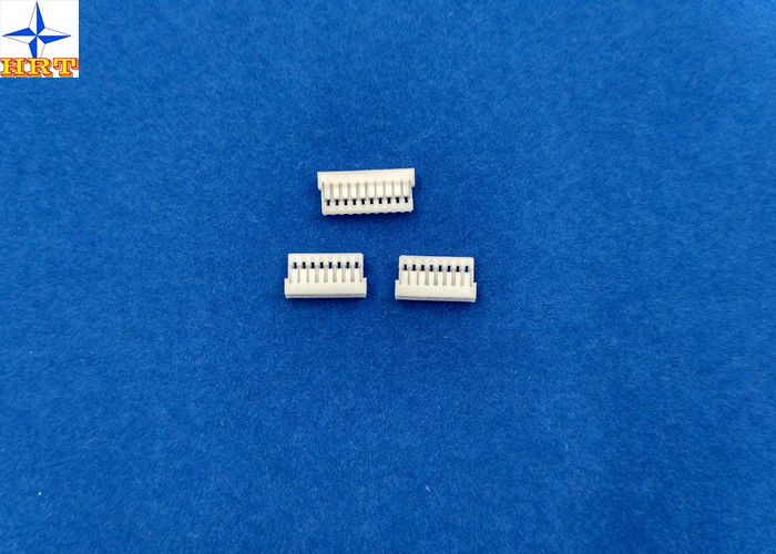 White Wire Board Connector With Phosphor Bronze 1mm Without Mating Lock